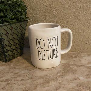 Rae Dunn DO NOT DISTURB mug